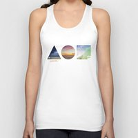 the 100 Tank Tops featuring 100 by Sylvain Garcia