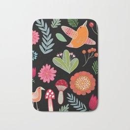 Flora & Fauna Of The Great Outdoors Bath Mat