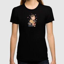 Lovey Dovey Chibi Nagron (Spartacus) T-shirt