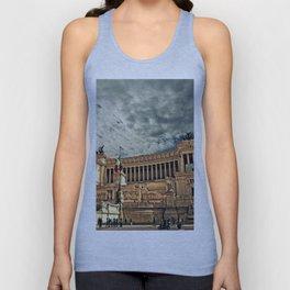 Vittorio Emanuele Monument Palace Rome Italy Unisex Tank Top