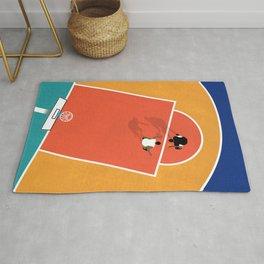 Street Basketball  Rug