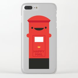 Happy Mail - Kawaii Post Clear iPhone Case