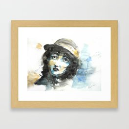 Love Mime Framed Art Print