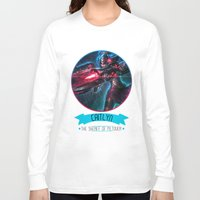 league of legends Long Sleeve T-shirts featuring League Of Legends - Caitlyn by TheDrawingDuo