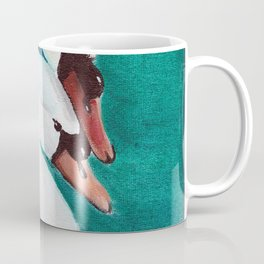 Swans Love Coffee Mug