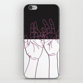 Blackout iPhone Skin