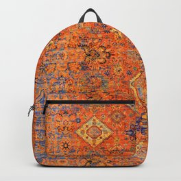 Oriental Vitange Moroccan Rug Design Backpack