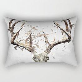 King of the Forrest - Trophy Buck - Deer Rectangular Pillow