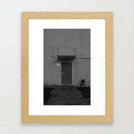 The Back Door Light Framed Art Print