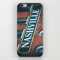 nashville iPhone & iPod Skins featuring Nashville by GF Fine Art Photography