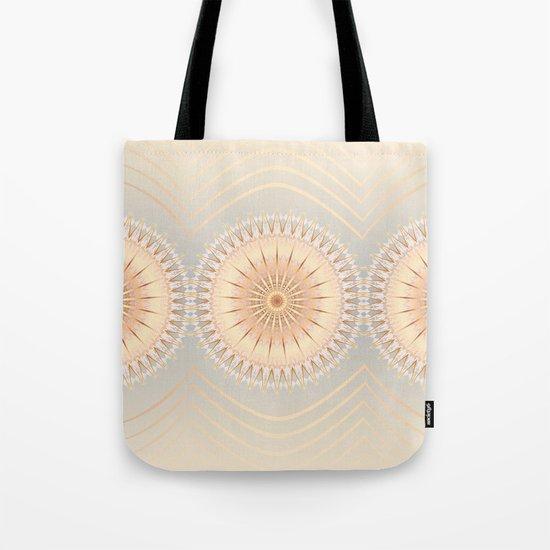 Gold Mandalas Tote Bag