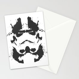 Stormtrooper Rorschach Stationery Cards