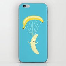 Bananachute iPhone & iPod Skin