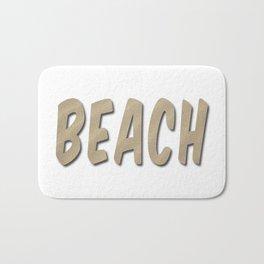 Beach Word Bath Mat
