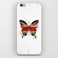 england iPhone & iPod Skins featuring england #1 by Steffi Louis