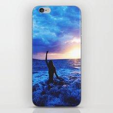 Sunset Swimmer iPhone & iPod Skin