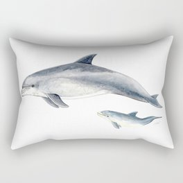 Bottlenose dolphin Rectangular Pillow