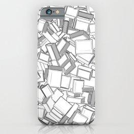 The Book Pile II iPhone Case