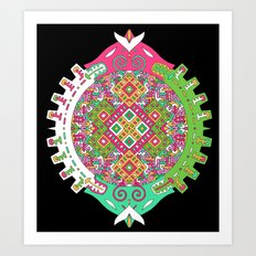 Dimensional Tunnel Art Print