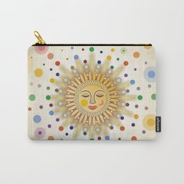 Sunshine with Placidity Carry-All Pouch
