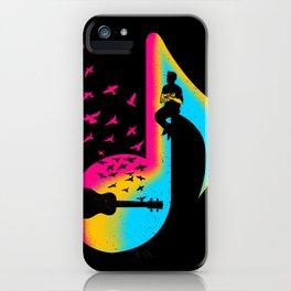 Music Ukulele Player iPhone Case