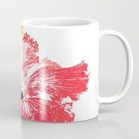 hibiscus Mugs featuring Hibiscus by Regan's World