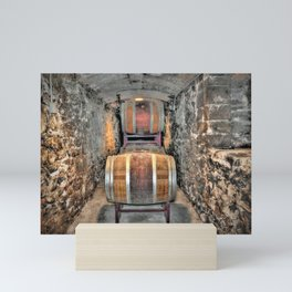 Wine Barrels Mini Art Print