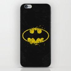 Bat man's Splash iPhone Skin