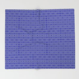Royal Geometric Throw Blanket