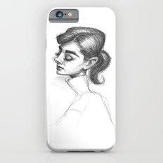 Audrey Hepburn in Pencil Slim Case iPhone 6s