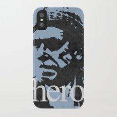 Charles Bukowski - hero. iPhone X Slim Case