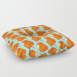Popsicle Pattern - Creamsicle Floor Pillow