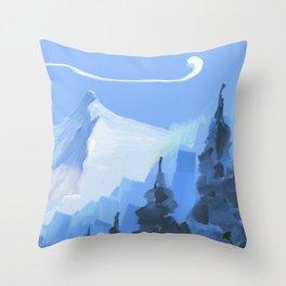 montain Throw Pillow