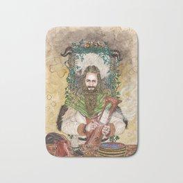 Bragi the bard of the Gods Bath Mat