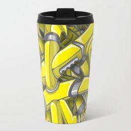 Robotrash Yellow Travel Mug