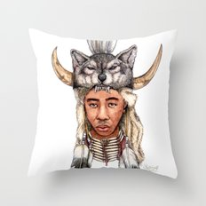 WOLF / Tyler, The Creator Throw Pillow