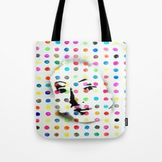 VENUS IN HIRSTIAN DOTS Tote Bag