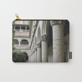 Spanish Cloister Patio Detail Carry-All Pouch
