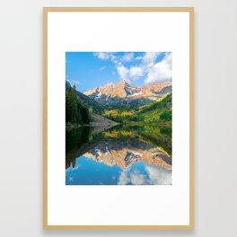 Daylight Reflection Framed Art Print