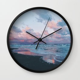 Morning Beach Wall Clock