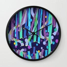 Aquatique 2 Wall Clock