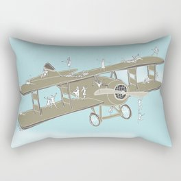 Up in the air Rectangular Pillow