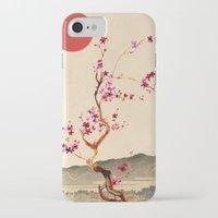 sakura iPhone & iPod Cases featuring Sakura by Ned & Ems