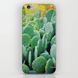 Prickly Pear Cactus iPhone Skin