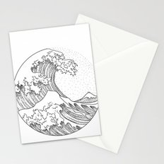 Great Wave Stationery Cards