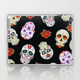 Sugar Skull Day of the Dead Pattern Laptop & iPad Skin