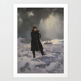 The Explorer Adolf Erik Nordenskiold by Georg von Rosen Art Print