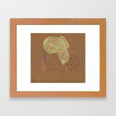 CONVERSATION Framed Art Print
