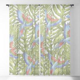 Macaw Sheer Curtain