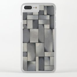 Composition in Gray byTheo van Doesburg, 1919 Clear iPhone Case